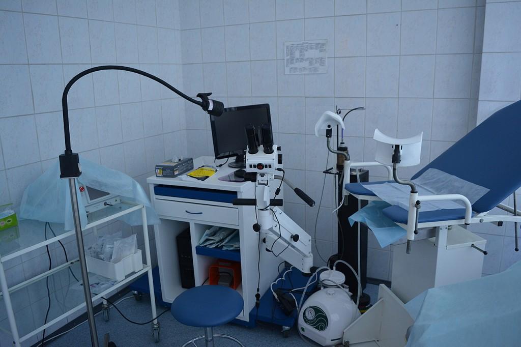 Кабинет гинеколога в Клинике Нарвская